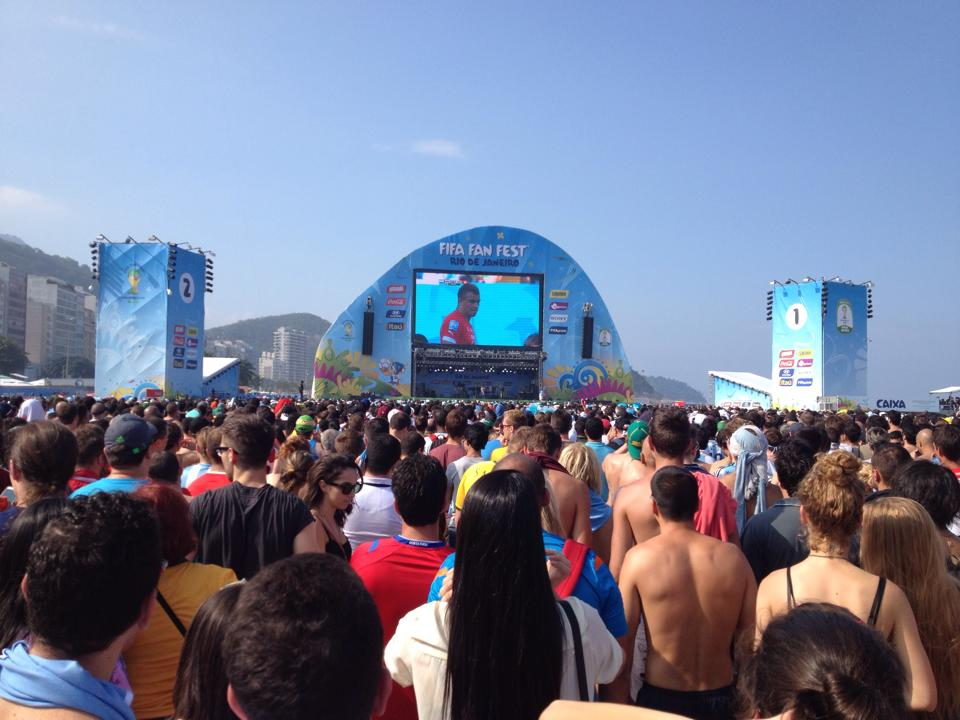 Copacobana Beach World Cup Fan Fest