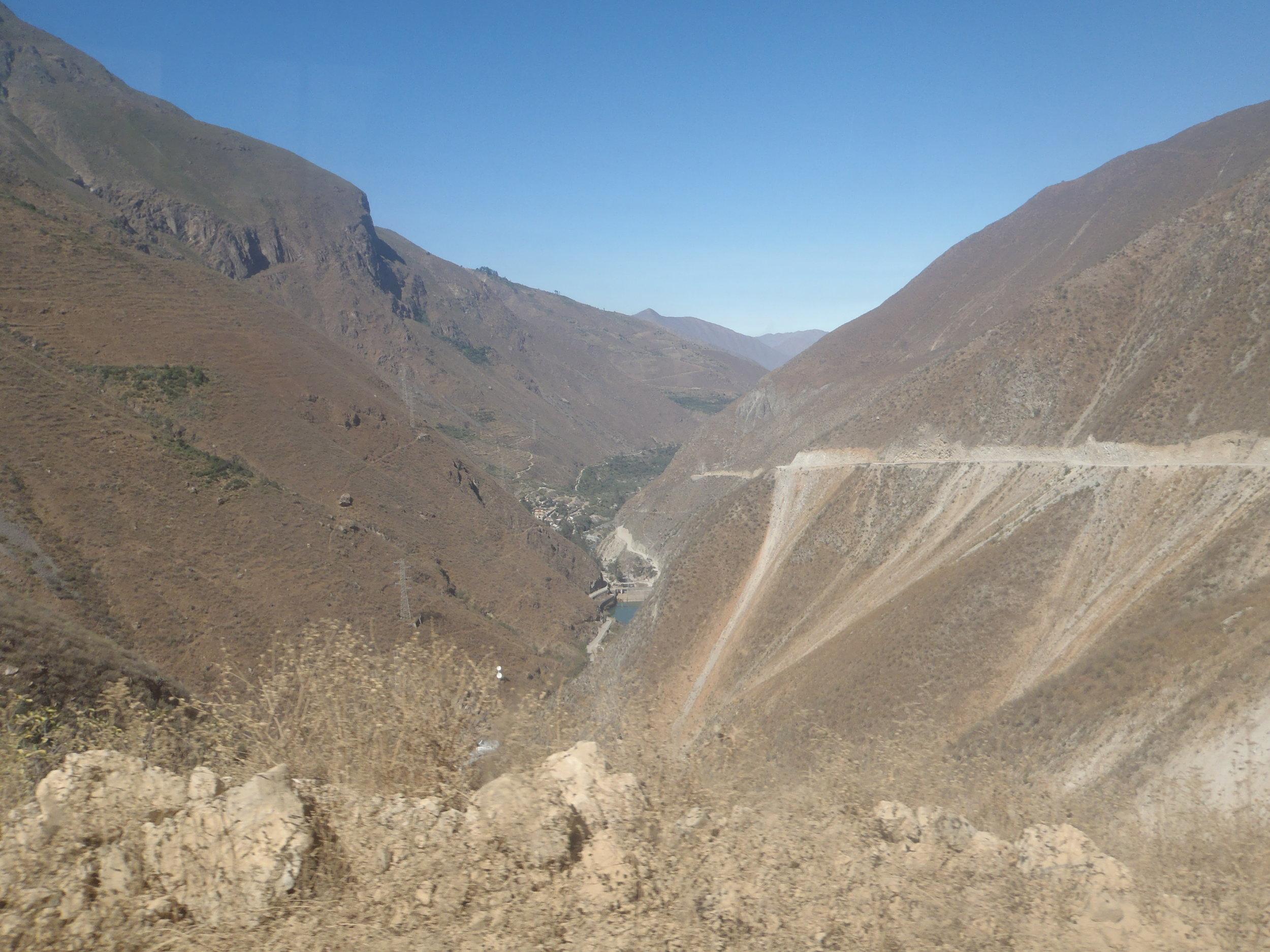 the roads to San Pedro...