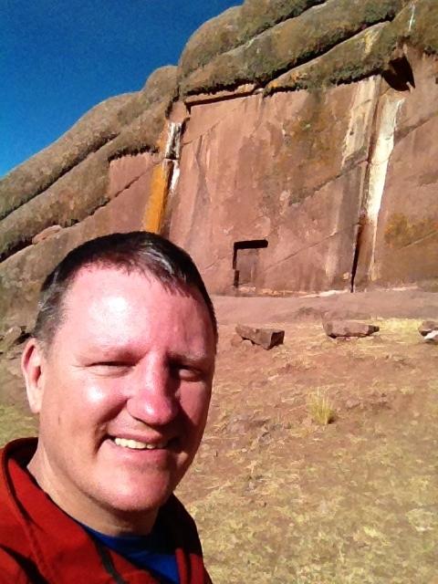 T he Star Gate, on the Peruvian / Bolivian boreder