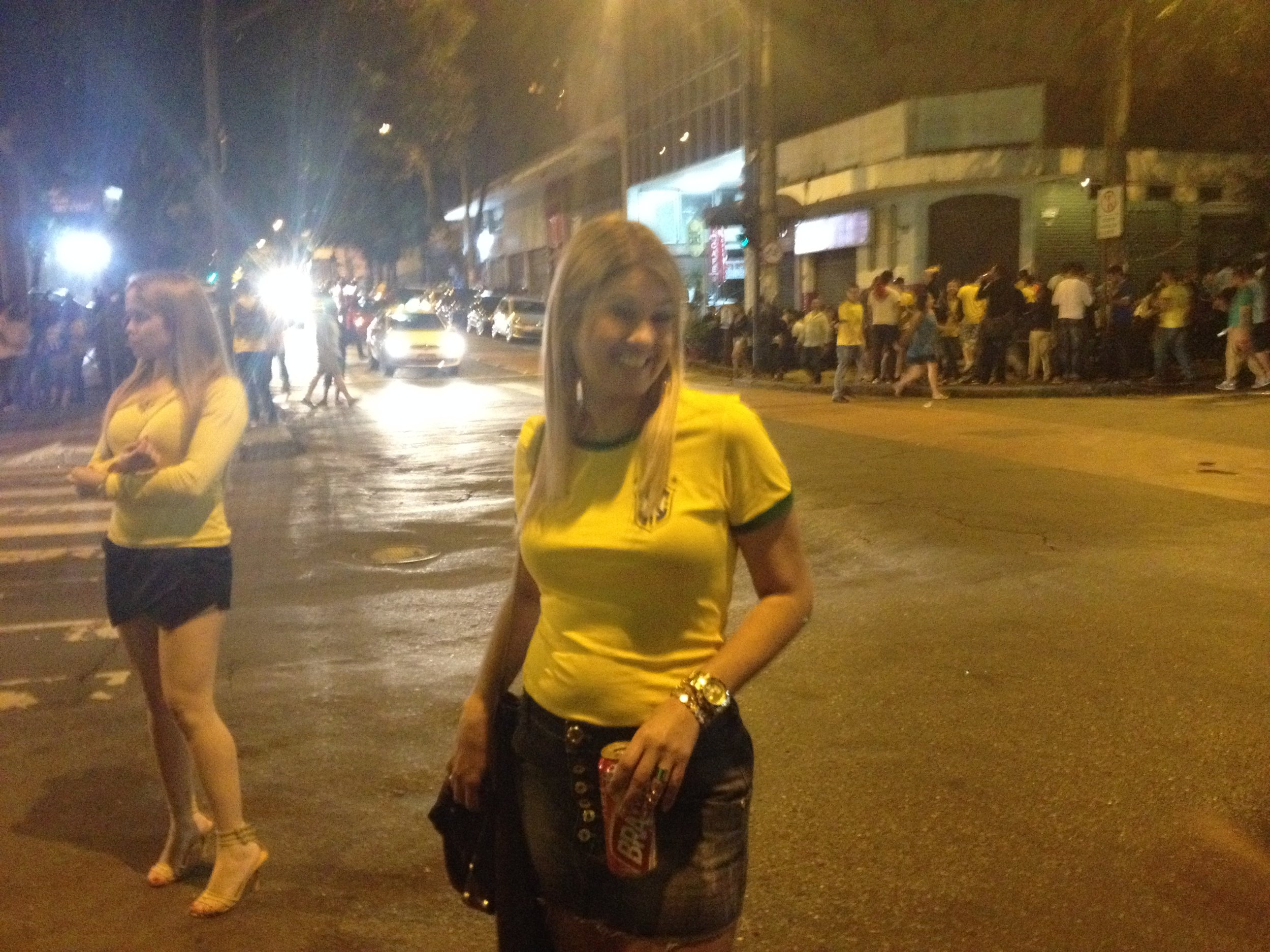 More Partying in Belo Horizonte....Hey its the World Cup...its the Rules!!!