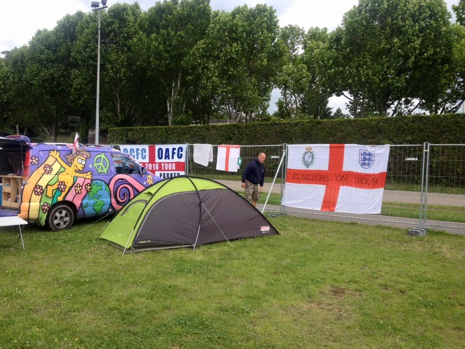 the Amazingly cheap St Etienne campsite