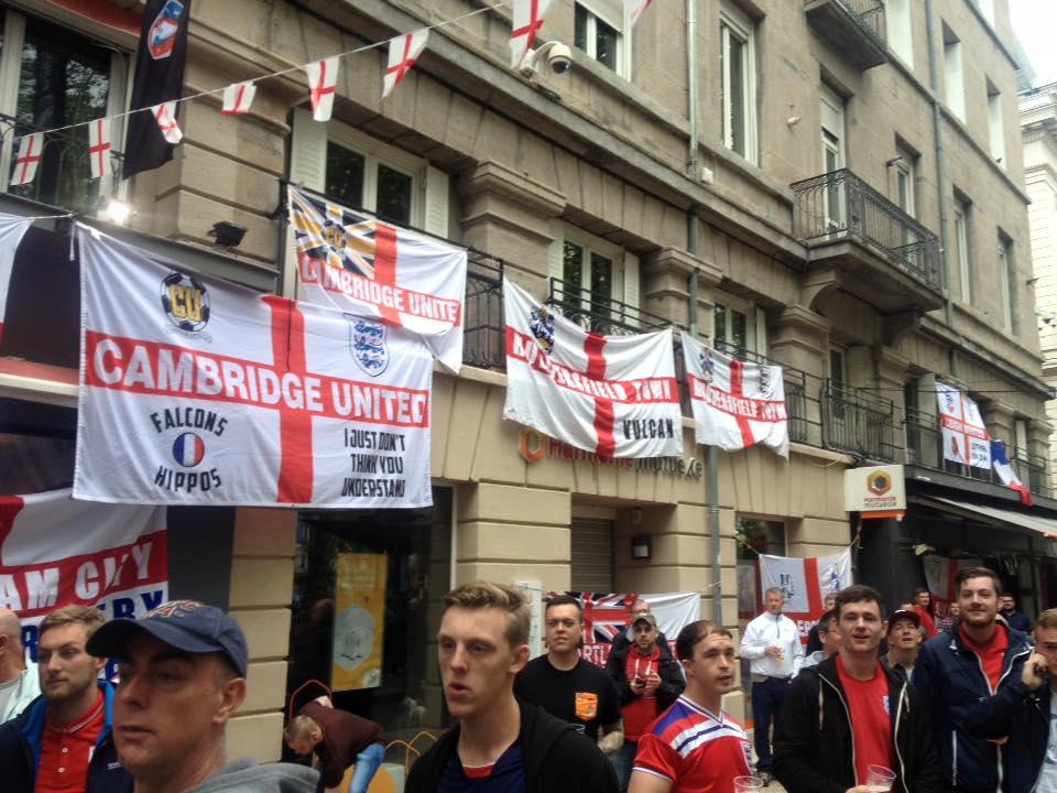 England have arrived