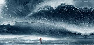 actual pic of me and the wave!