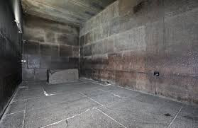 Inside the 'Kings Chamber' Smooth Granite blocks up to 90 tonnes fitted with such precision that you cant feel the join when you run your hand over them