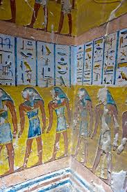 Egyptians were the biggest graffiti artists in history, but did not put a single on inside their greatest achievement......  Really????