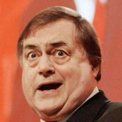 John Prescott amazed upon seeing the Trilithion