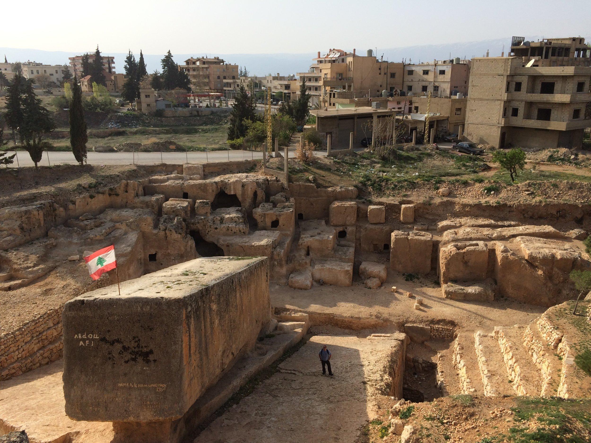 Baalbek, Lebanon....Evidence of a forgotten History?.