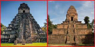 Similar construction, opposite sides of the planet? Guatemala & Cambodia.