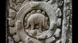 The Dinosaur at Angkor Wat?