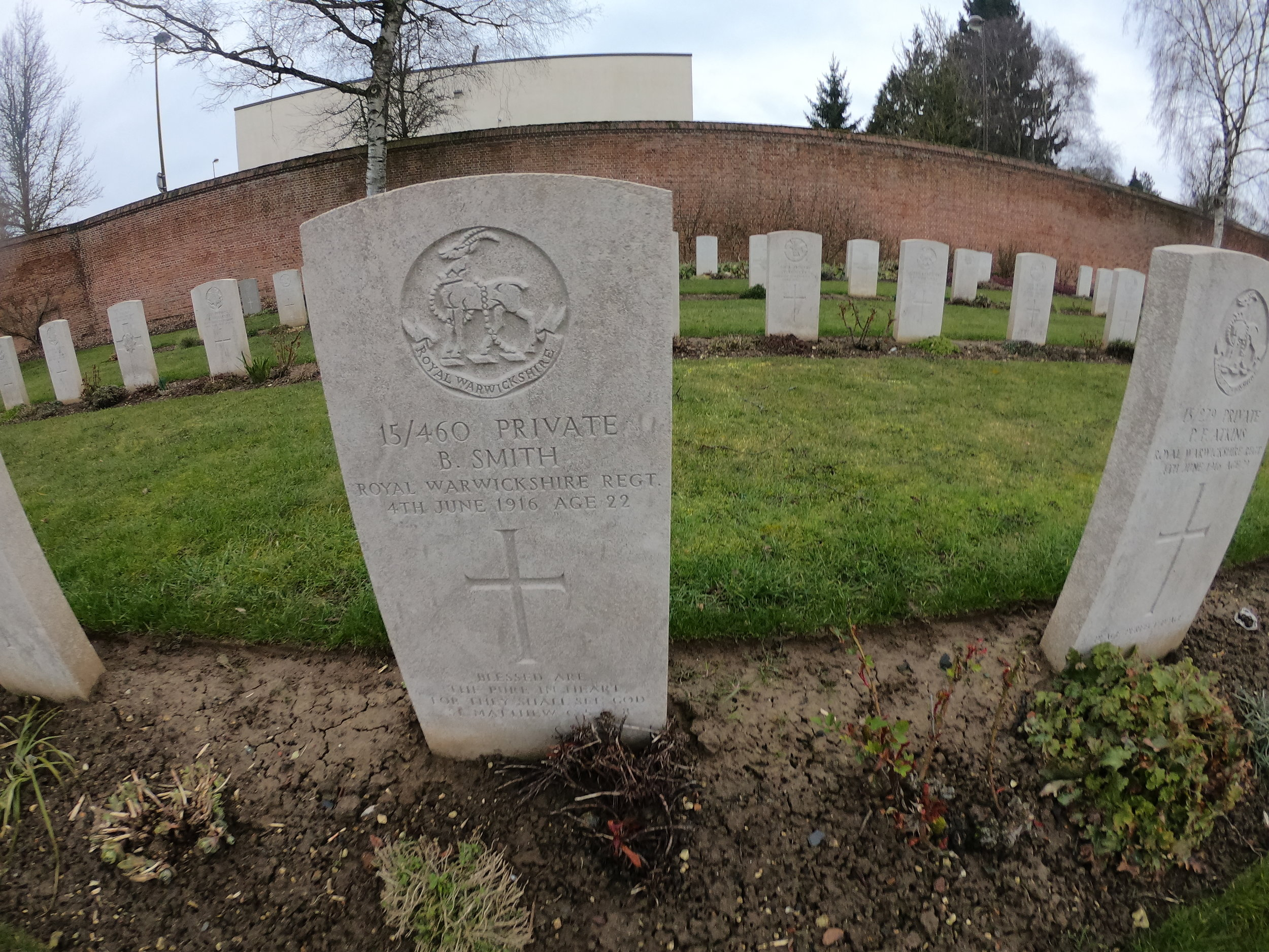 Royal Warwick's Graves