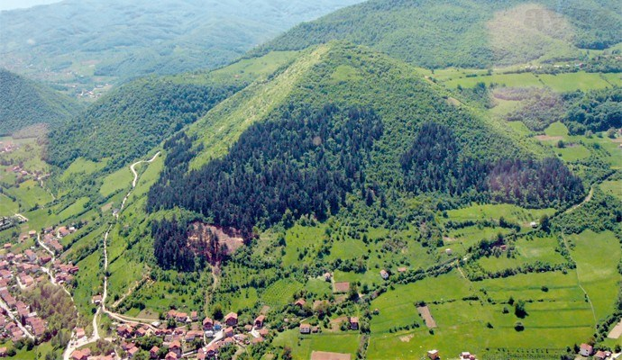 Pyramid of the Sun, Visoko, Bosnia.