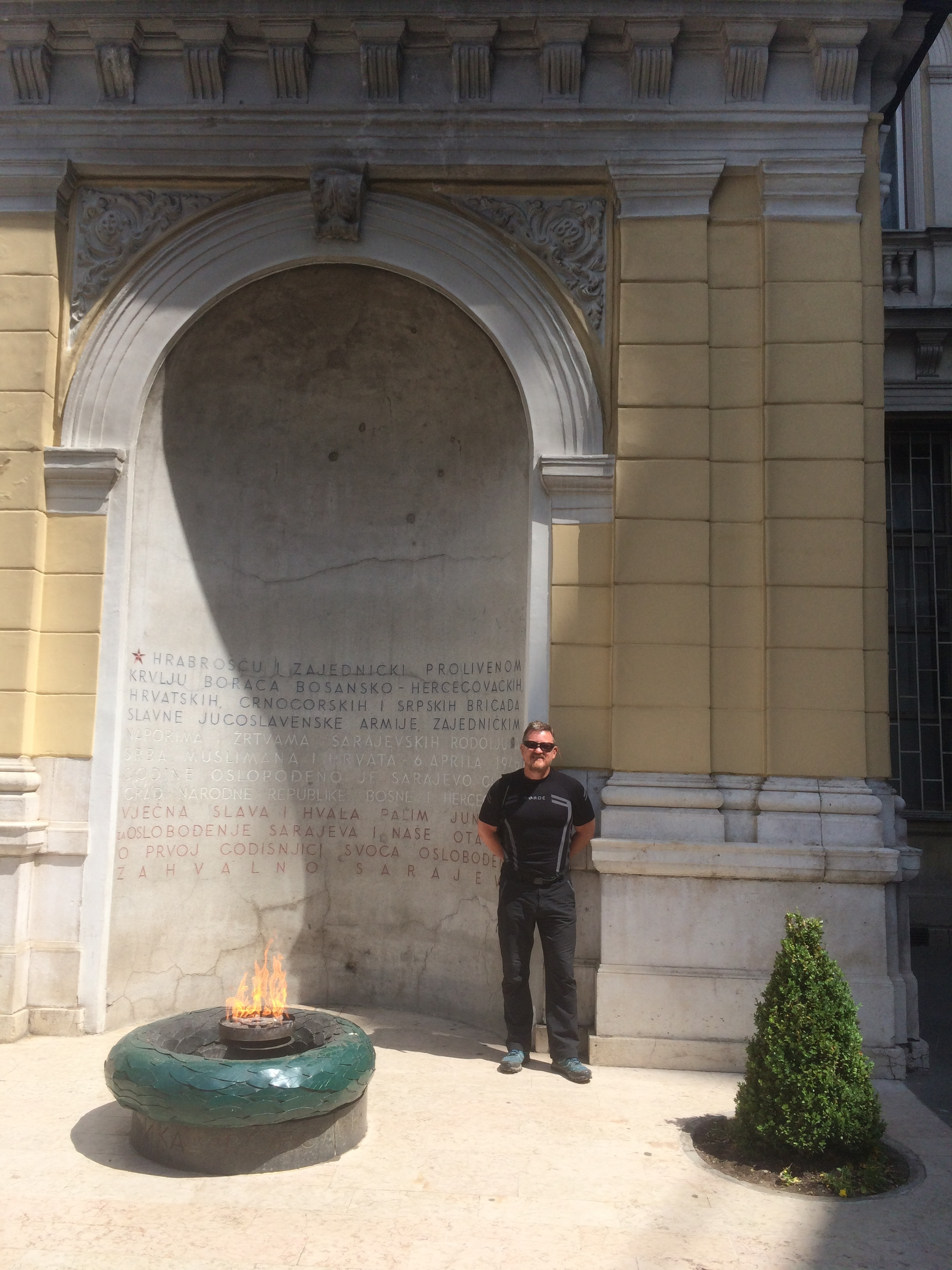 The Eternal Flame In Sarajevo, To Remember All Victims Of WW2