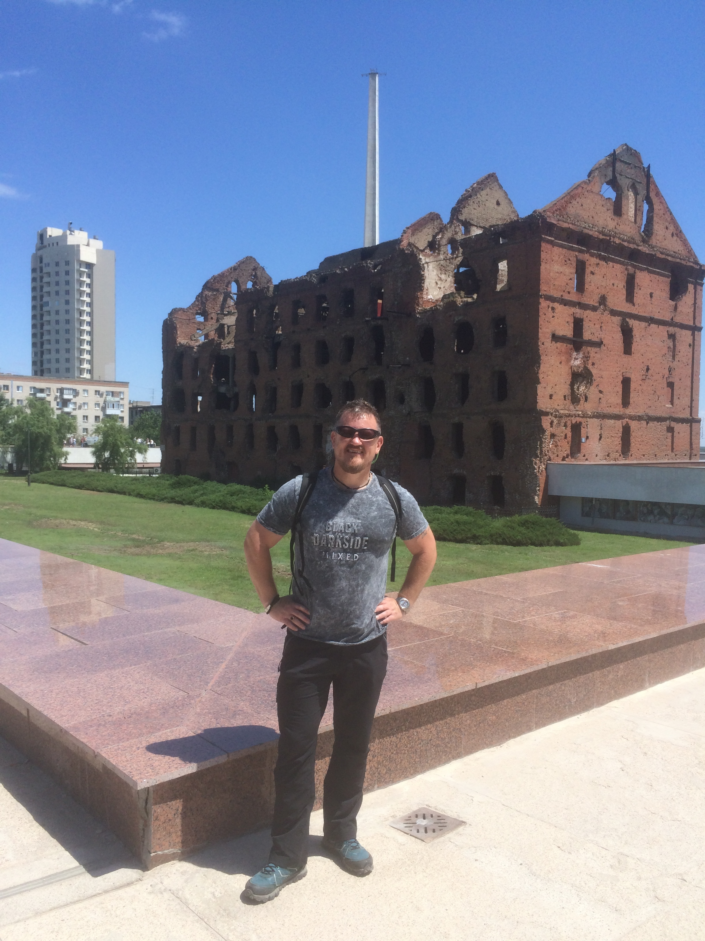 Buildings from the 'Battle of Stalingrad'