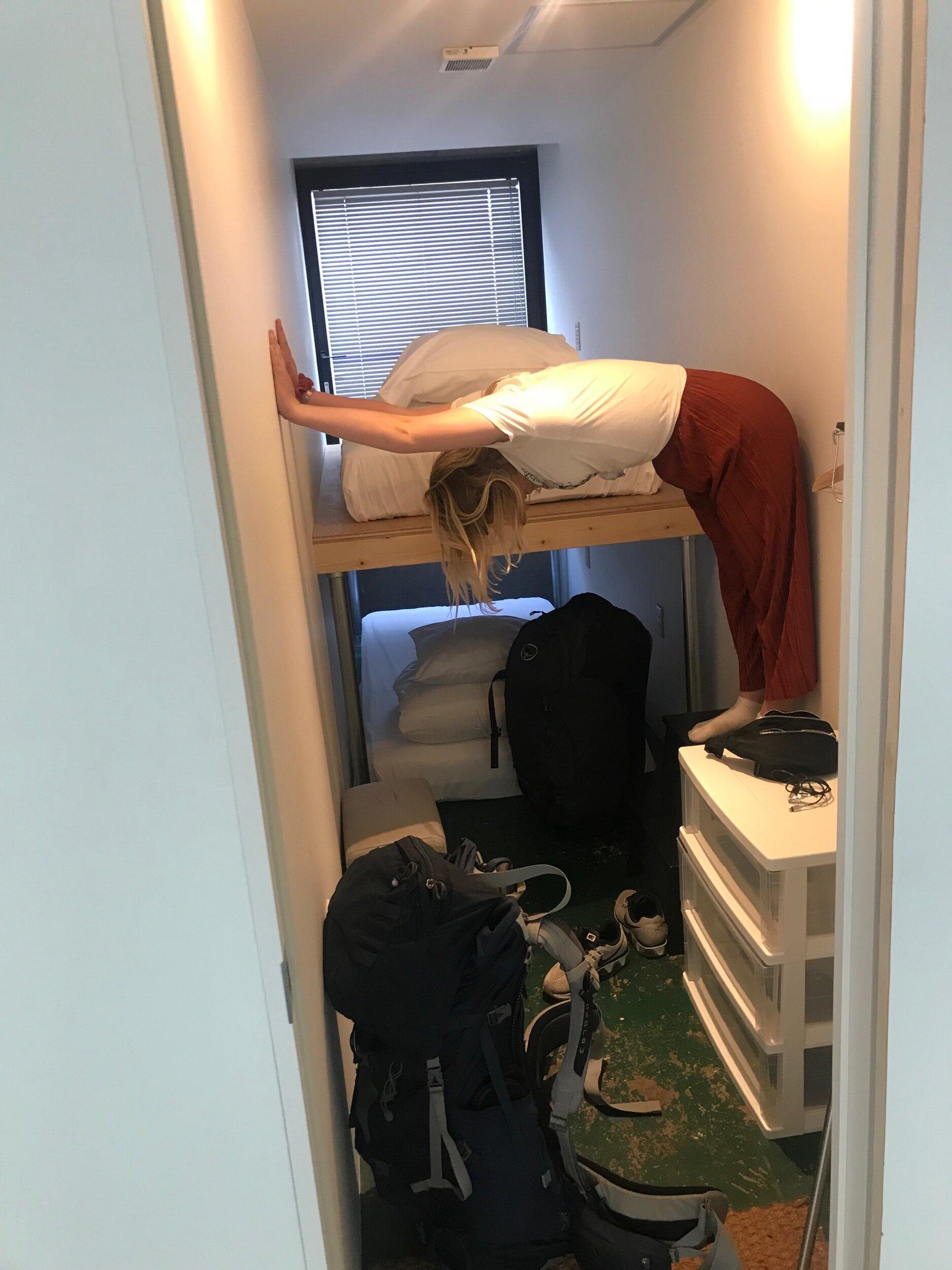 Alisha holding the room together
