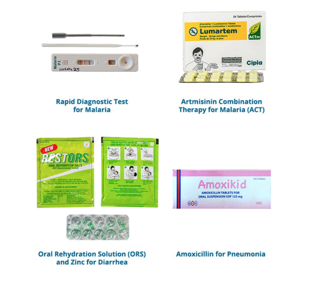 Examples of products provided by Life Goods to protect people against the three main causes of death (Source:  Life Goods Website ).