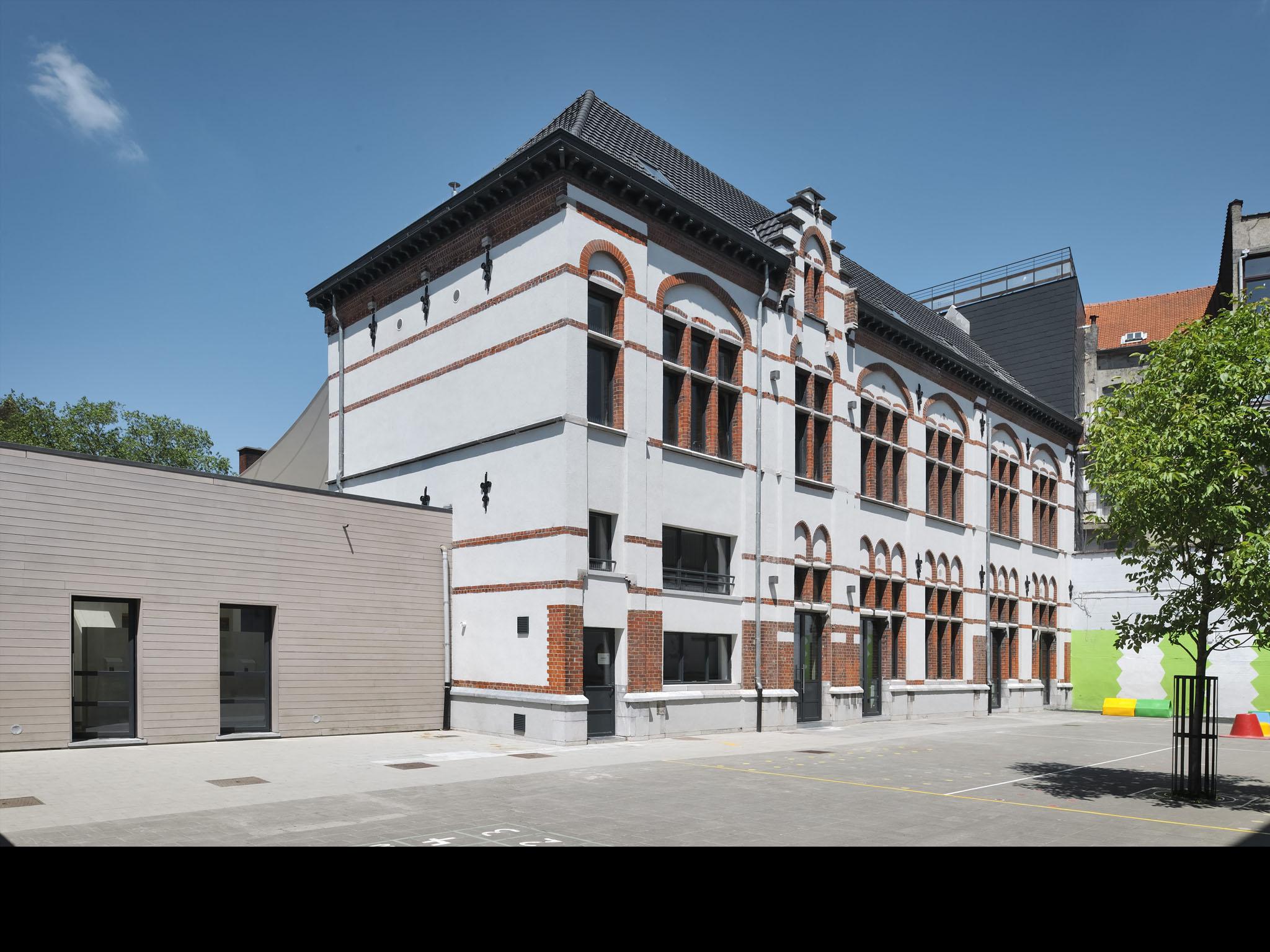 Basisschool Heilige Familie - gebouw 1 - Schaarbeek