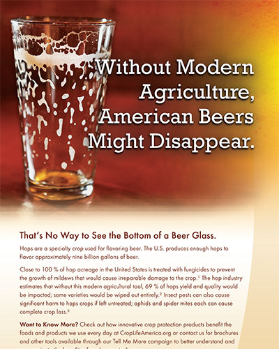 Without Modern Agriculture American Beers Might Disappear Image