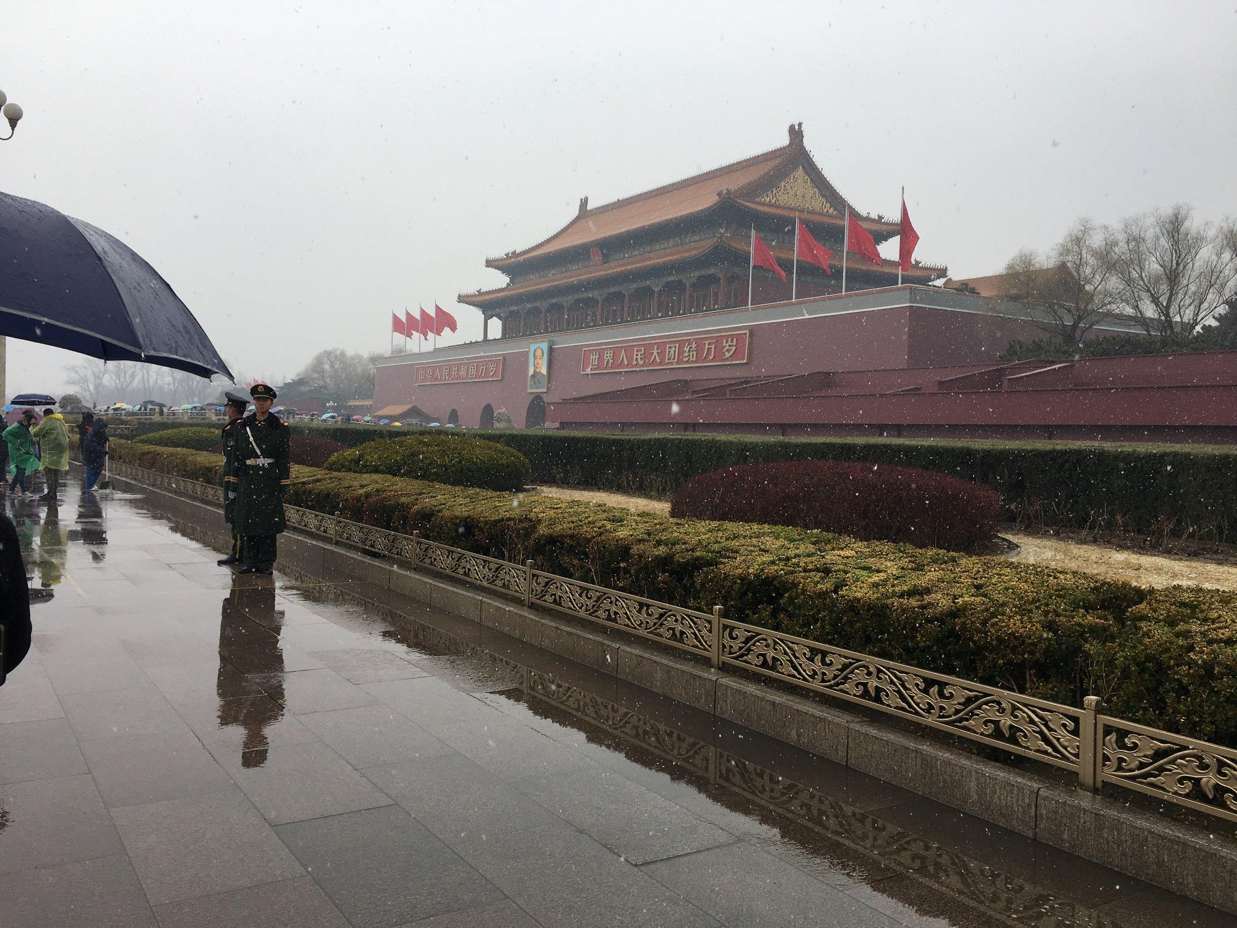 Toward The Forbidden City