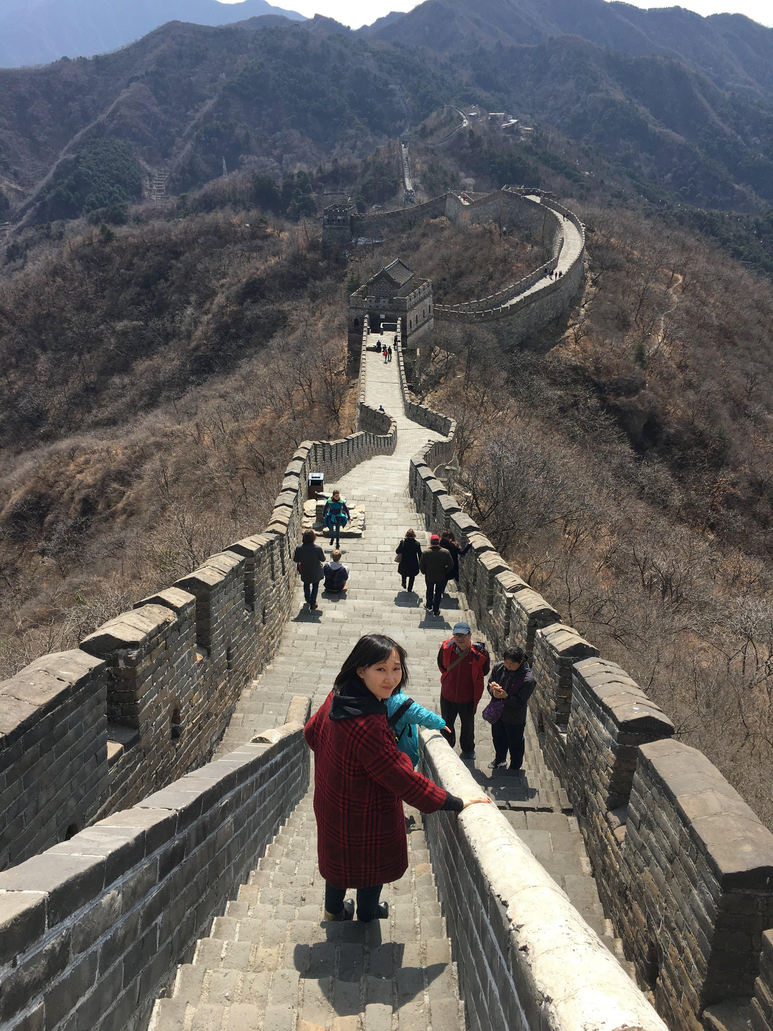 Our guide Yuan Zheng
