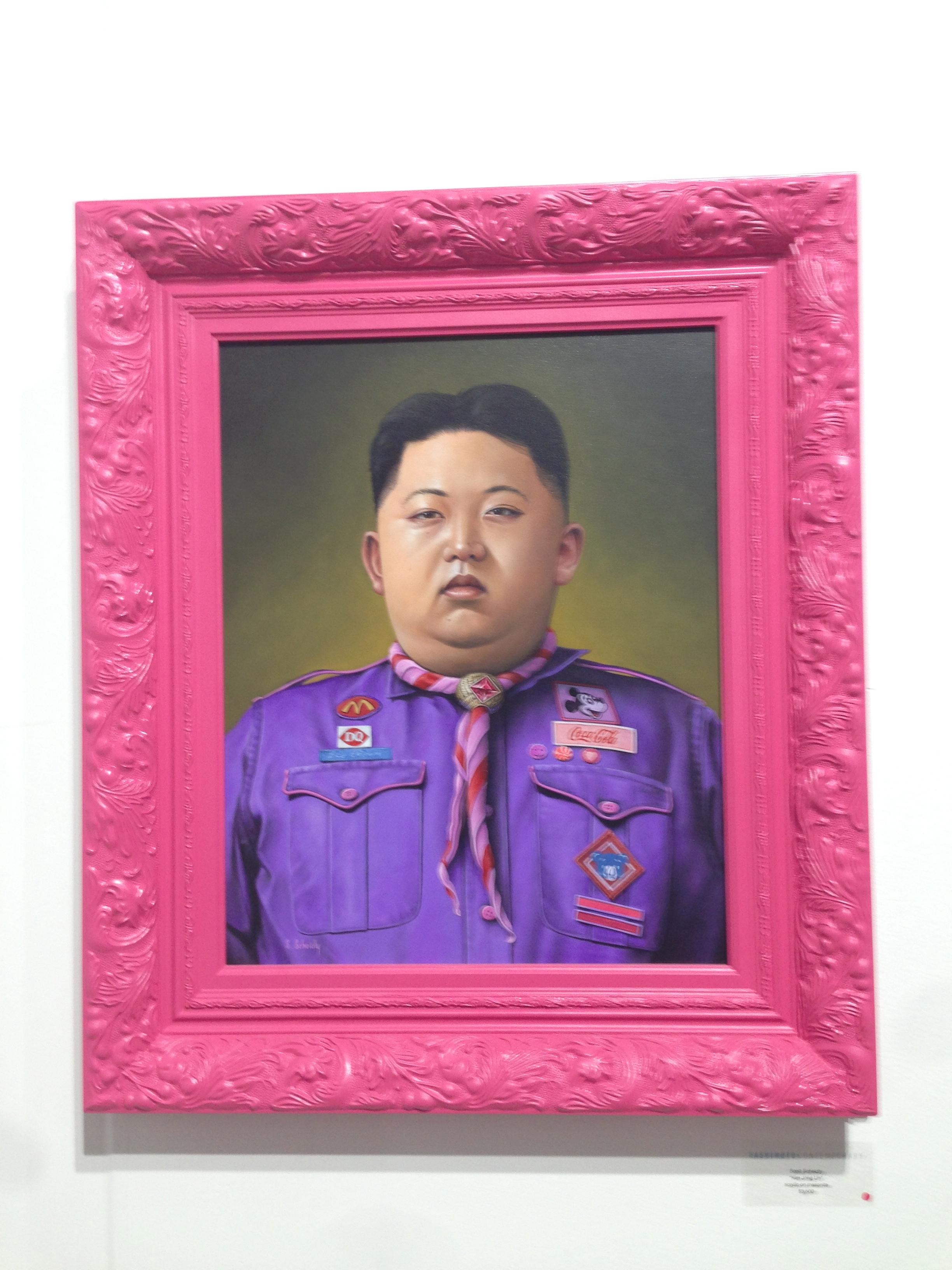 Kim Jong Un by Scott Scheidly