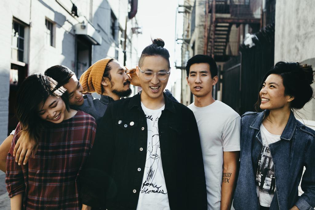 Left to right: Sally Kang, Daniel Chae, Alex Hwang, Johnny Chong, Joe Chun, and Jennifer Rim.  Photo Credit: Run River North