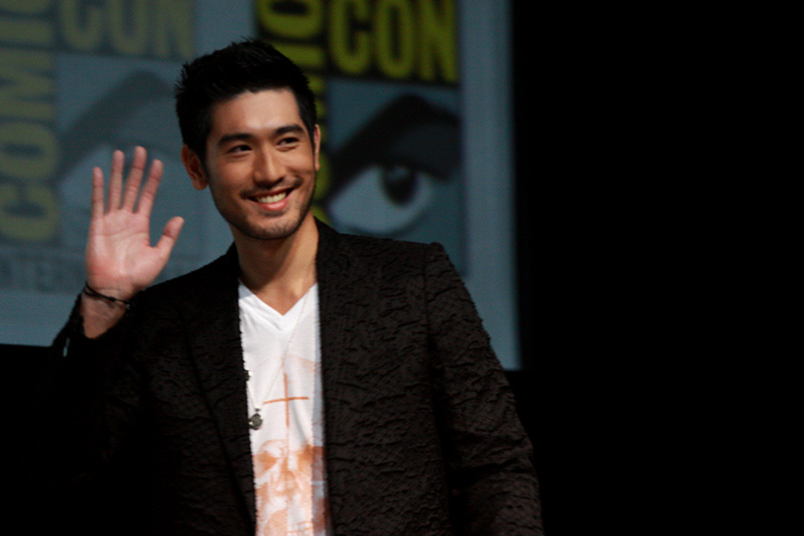 Godfrey Gao, 30 - Taiwanese-born Canadian model and actor Godfrey Gao has always elicited screaming and swooning in Asia, but international fans are now catching on as well. As the first Asian male to model for Louis Vuitton, he paves the way for familiarizing the Asian face to the modeling industry. In addition to modeling, he's made his acting debut by playing party-loving half-demon Magnus Bane in the film adaptation of the classic YA fantasy novel The Mortal Instruments: City of Bones, alongside Lily Collins and Jamie Campbell-Bower. -C.Z.Image courtesy of Gage Skidmore