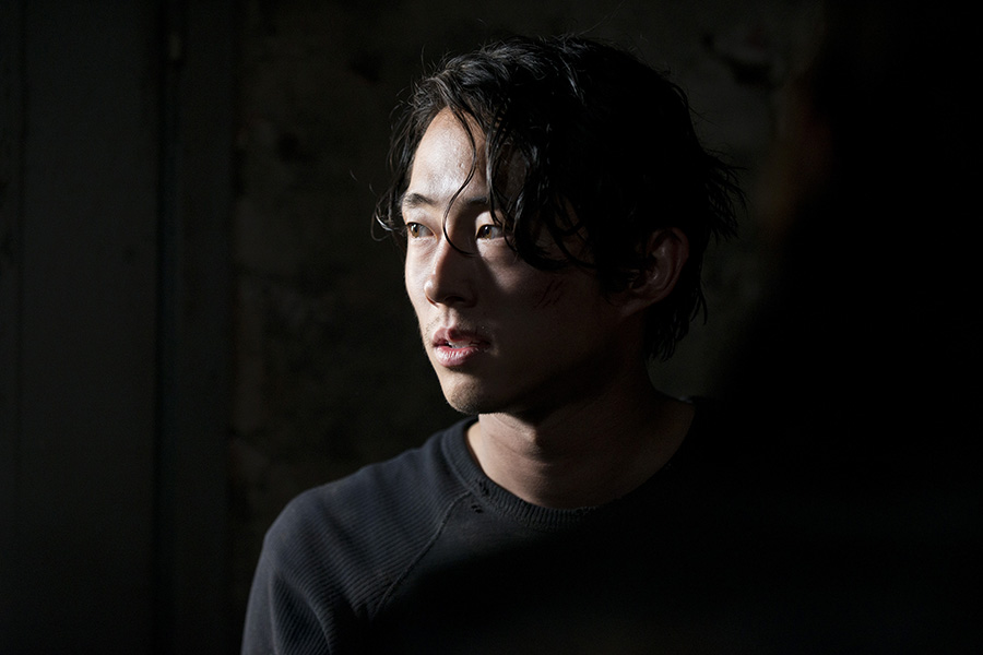 Steven Yeun, 31 - There's a lot to love about AMC's The Walking Dead, but Steven Yeun (who plays Glenn Rhee) remains our favorite part of the show, mainly because of how his character has grown emotionally and physically since the show's inception. But despite landing one of the largest roles on the hit zombie show, Yeun isn't waiting around for other great opportunities to come to him. He's put the ball in his own court by writing and producing his own projects, like an adaptation of Kang Chol-Hwan's memoir The Aquariums of Pyongyang, a book about surviving a decade in a North Korean gulag, which is slated for release later this year. While he's already a major part of The Walking Dead, we're eagerly awaiting the day Yuen breaks through as a tried-and-true silver screen lead. -K.T.Image courtesy of AMC