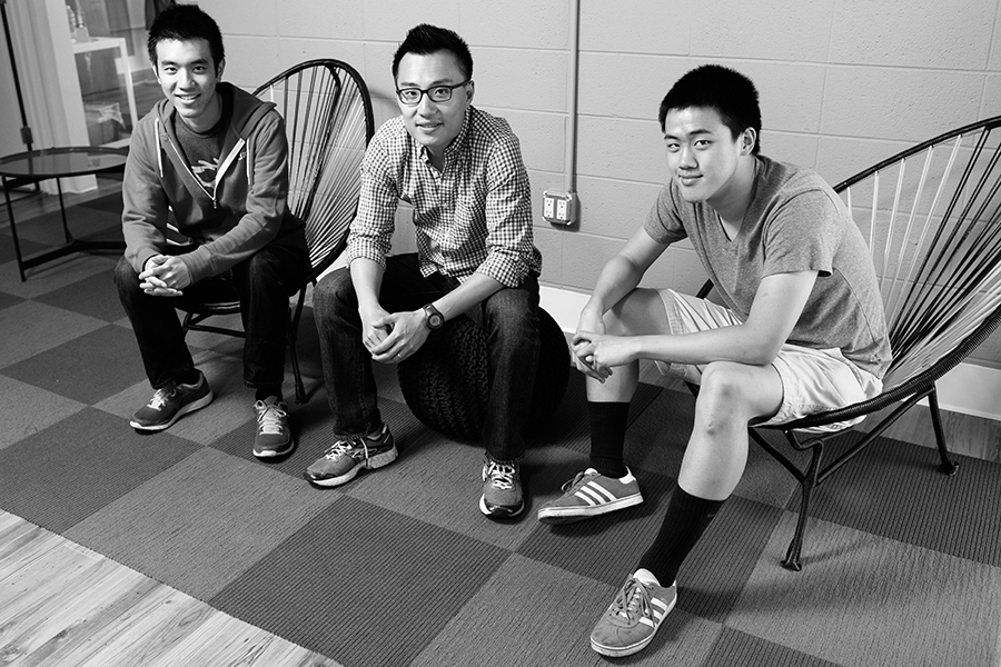 Andy Fang and Stanley Tang, both 22 - Stanford computer science graduates Stanley Tang and Andy Fang are making serious waves in Silicon Valley's crowded tech startup scene with their company DoorDash, started in 2013. In tech talk, it's a logistics company driven by technology, but here's why it matters: the service is a hyperlocal Seamless, making food deliveries within 45 minutes in cities like San Francisco, Boston, Los Angeles, and Chicago. The two founders amassed over $17 million in their most recent round of funding. Despite the overwhelming success, the recent graduates say it all comes back to their families who have believed in them and supported them from the start. And still they say,