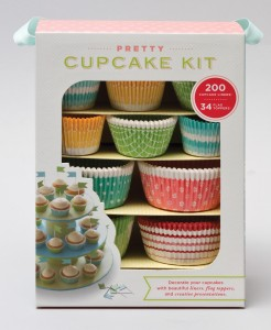 Chronicle Books Pretty Cupcake Kit ($19.95) - This super cute cupcake kit has everything one would need to dress up ordinary cakes and tempt everyone at the next bake sale—or wow all the guests at the next birthday party!