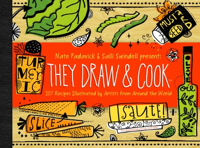 They Draw and Cook: 107 Recipes Illustrated by Artists from Around the World ($15.64) - This book offers a gorgeous and unique take on the traditional cookbook, with beautiful illustrations and step-by-step instructions for a variety of regional, mouthwatering dishes.