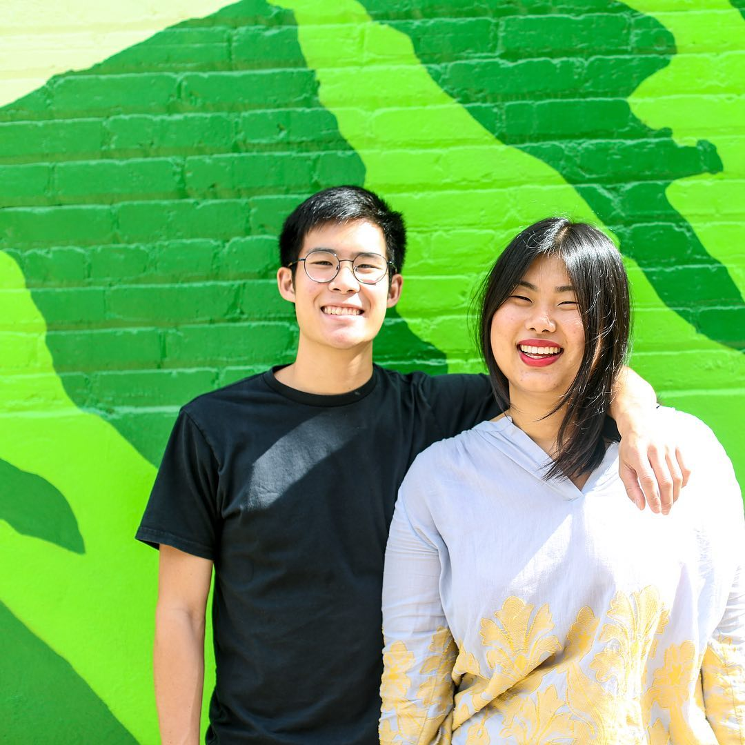"""Phil Wong, 24, and Ann Yang, 24 - What do you get when you mix a blender, four crates of ugly peaches and two best friends in college? Misfit Juicery. Over a third of produce winds up in our landfills for cosmetic reasons. Since 2015, Misfit Juicery co-founders Phil Wong and Ann Yang have been fighting to keep """"misfit"""" produce out of the garbage and challenging the discourse around food waste, one cold-pressed juice at a time. Their environmentally conscious and locally sourced products can be found in stores like Whole Foods and Dean & Deluca in Washington, D.C. and New York City. — Quincy ChoImage Courtesy of Misfit"""