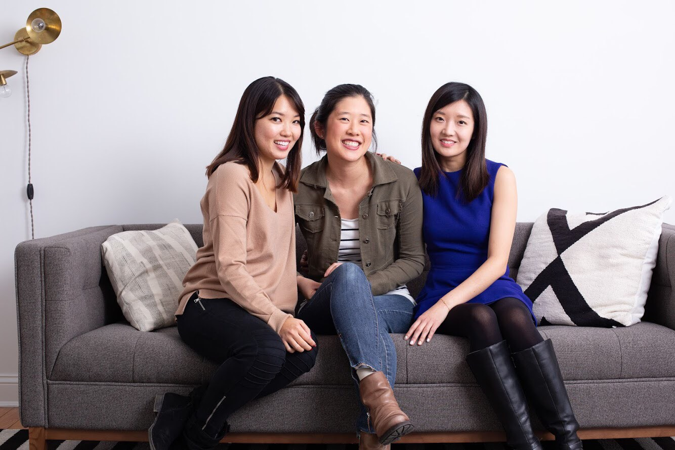 From left to right: Kelly Moon, Jennifer Duann Fultz, and Alice Tang