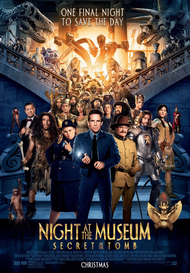 NIGHT AT THE MUSEUM III