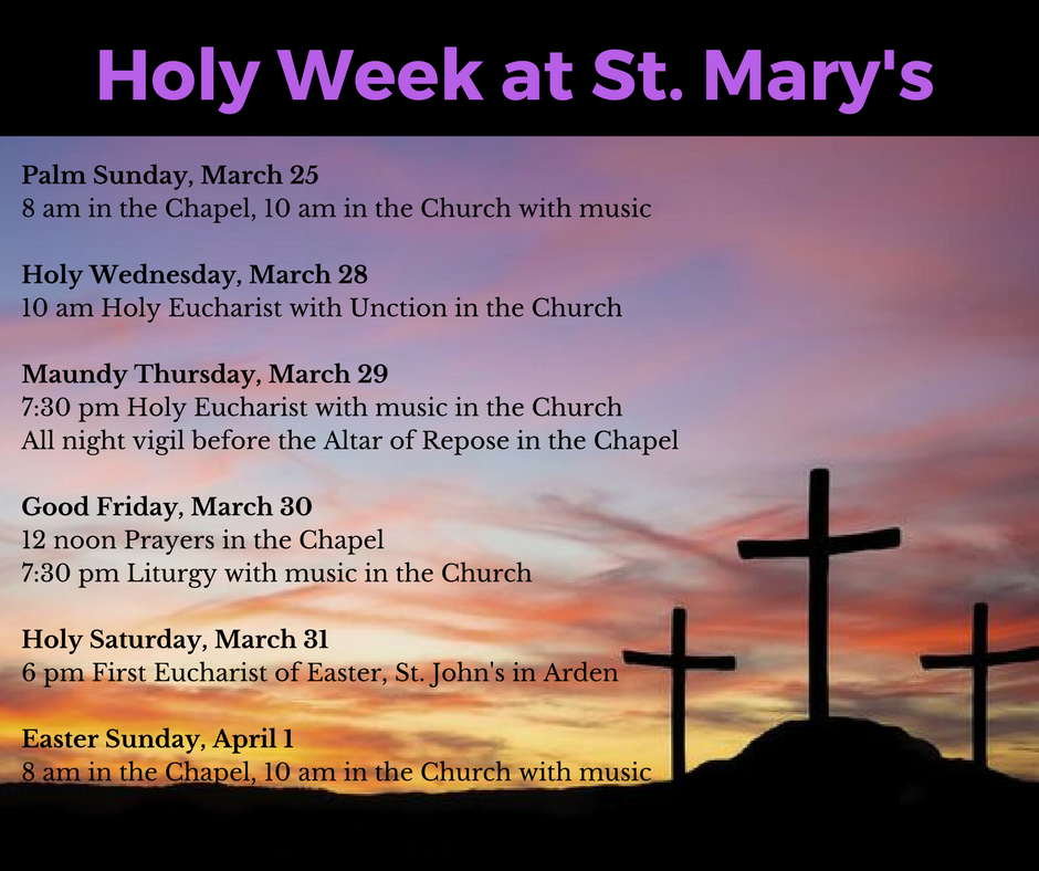 Holy Week 2018 at St. Mary's.png