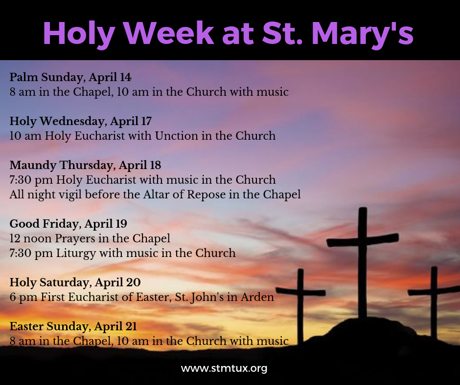 Holy Week 2019 at St. Mary's.png
