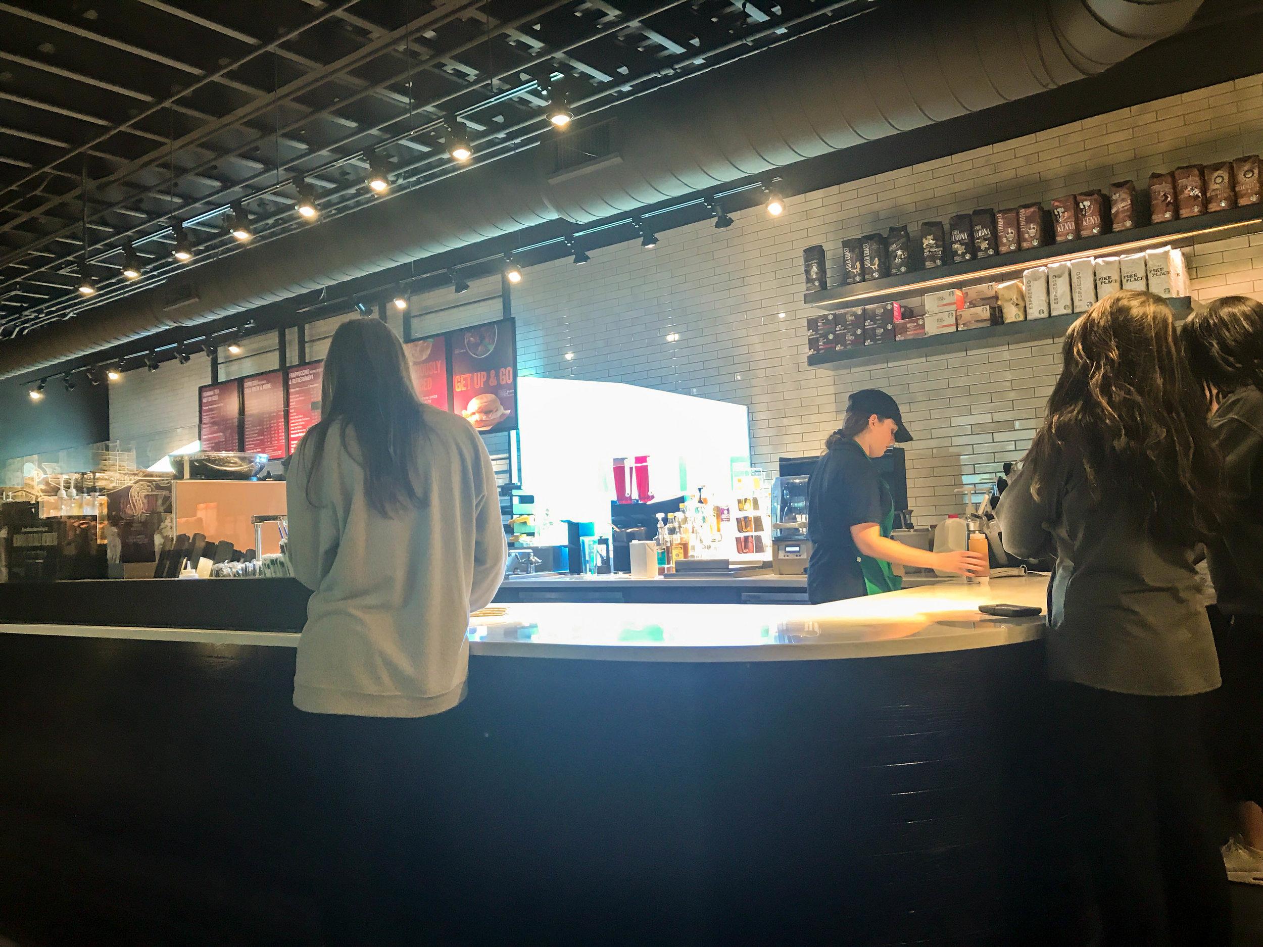 A first look inside Quinnipiac's new Starbucks                                                                                                 Photo by Dorah Labatte