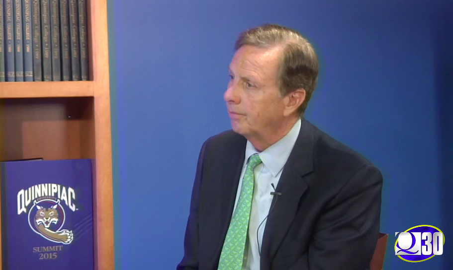President Lahey discusses Charlottesville during an interview with Q30 Television
