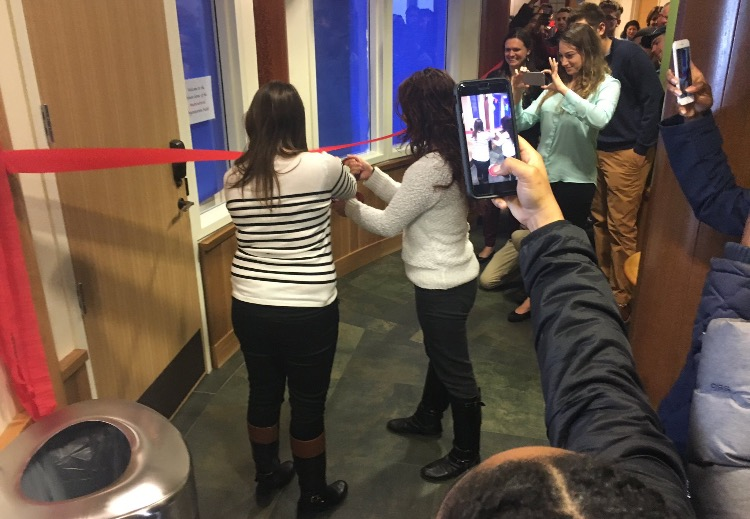 Opening ceremony of the multicultural suite in the Carl Hansen Student Center