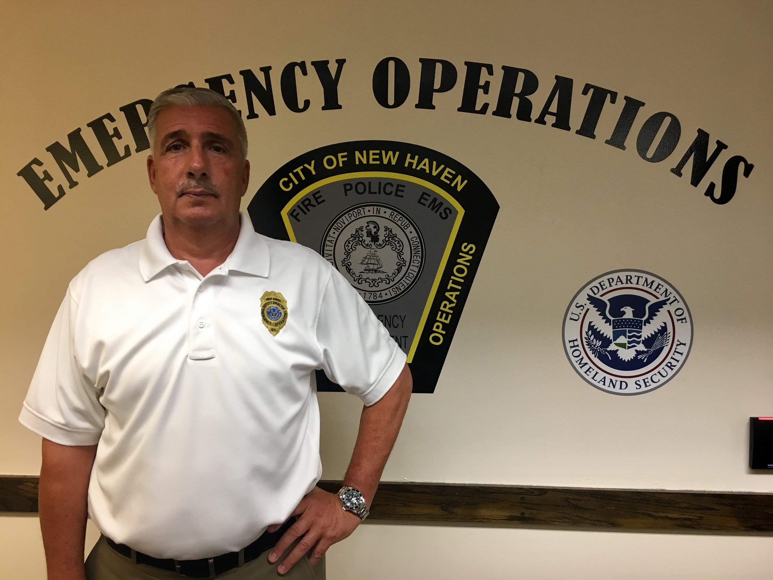 Rick Fontana, Deputy Director of Emergency Operations - New Haven