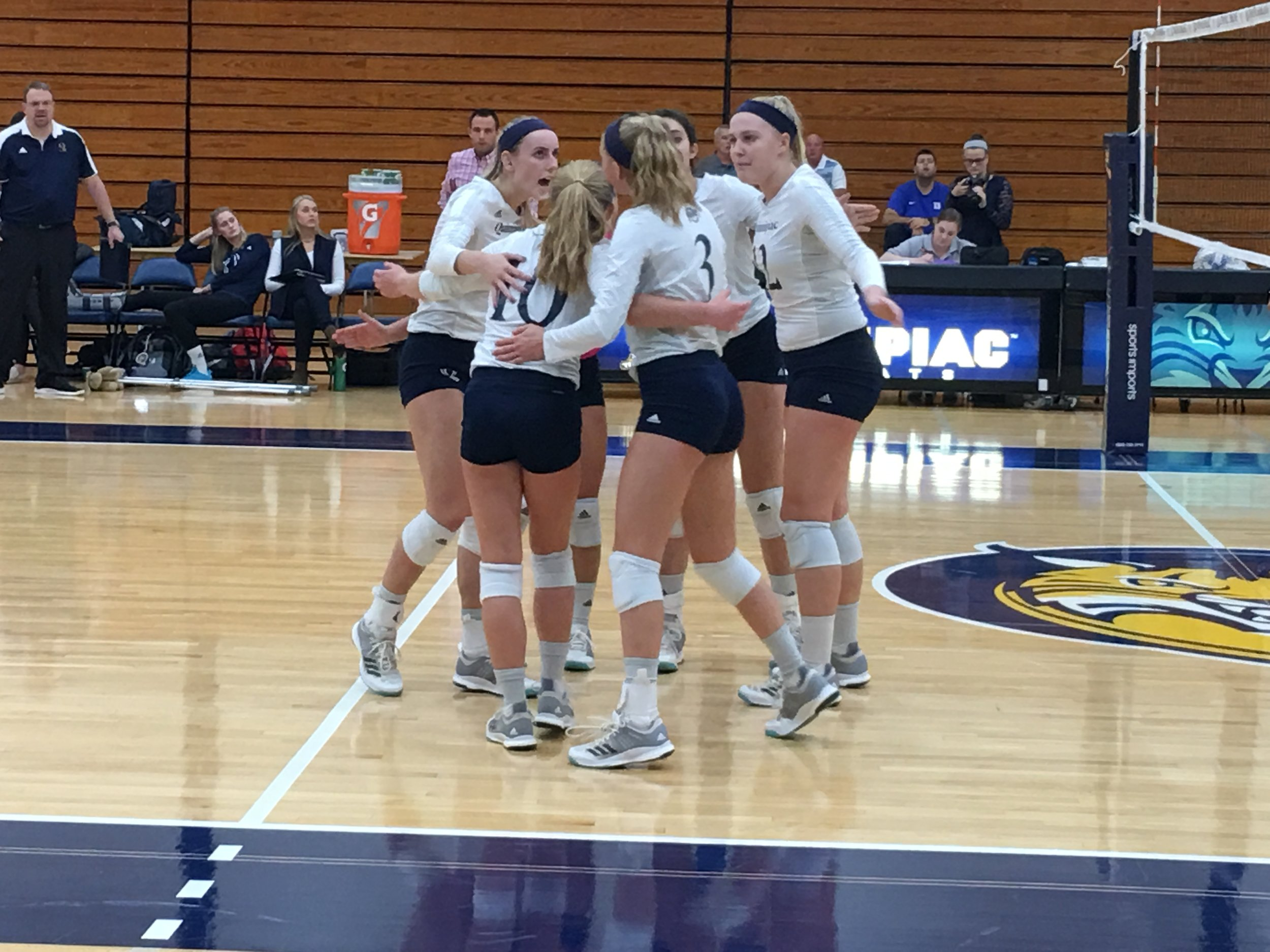 The Quinnipiac volleyball team was at the center of a Title IX lawsuit when the school announced it would cut the program in 2009
