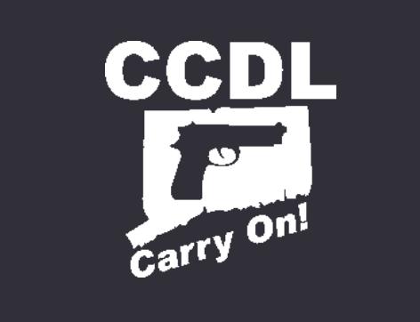 The Connecticut Citizen's Defense League logo, courtesy of the CCDL official website.