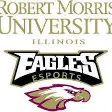 Robert Morris University Illinois esports Team Logo. Photo Via Robert Morris University's esports Team Twitter  @RMUesports