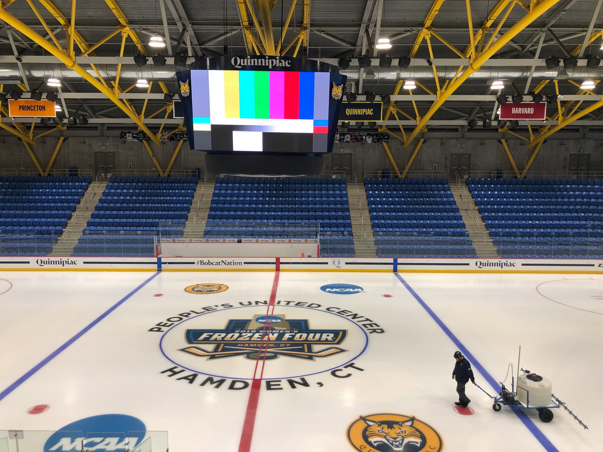 Quinnipiac will be hosting the Women's Frozen Four for the second time in the last five years.