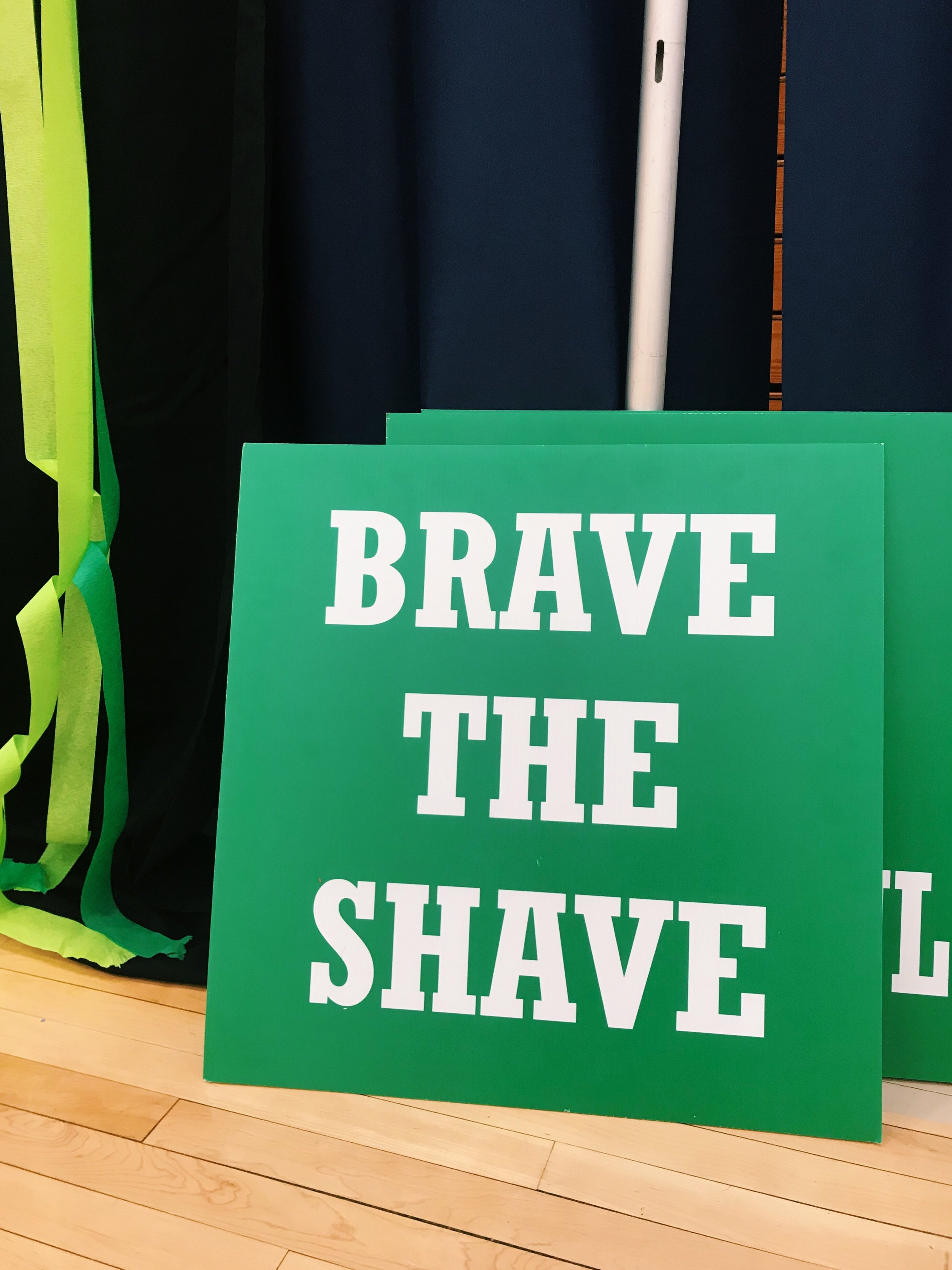 SPB invited students to shave their heads for a good cause as it hosted its 10th annual St. Baldrick's fundraiser.
