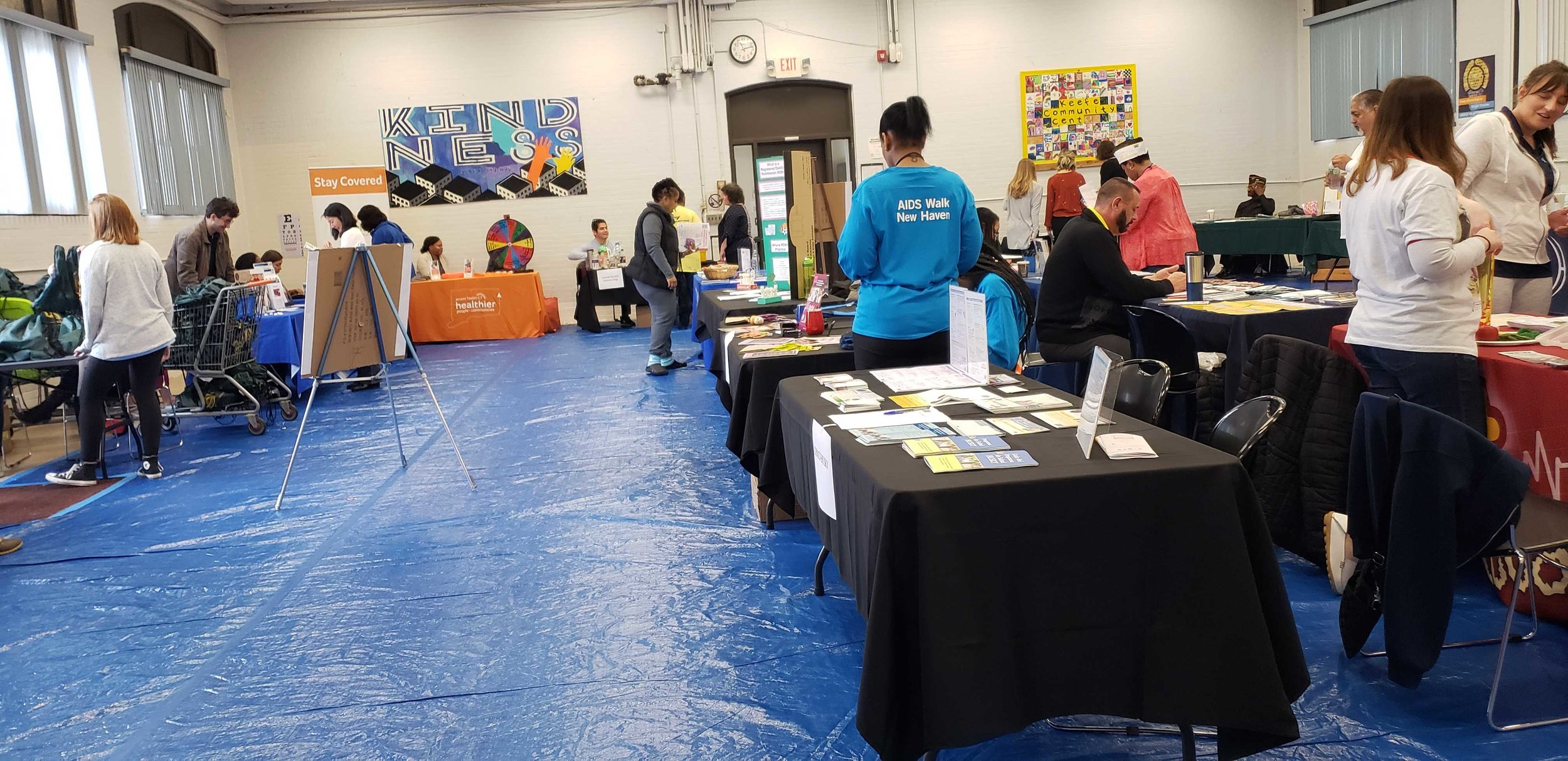 The Keefe Community Center held its first community fair Saturday. (Photo: Ross Lager)