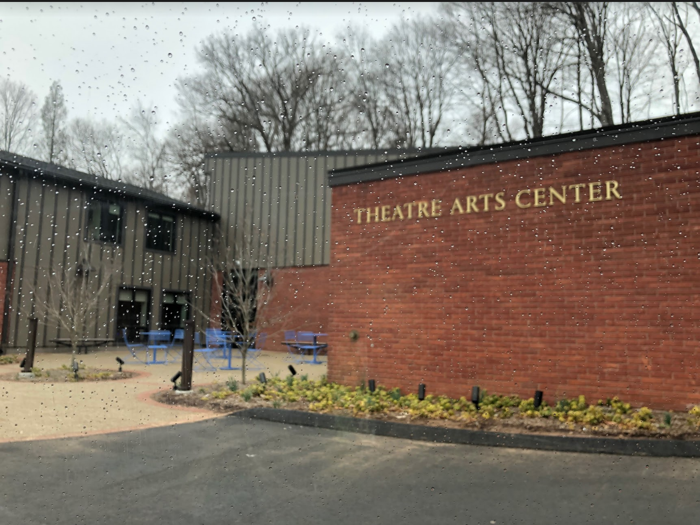 Drama department's rehearsal space on Sherman Ave