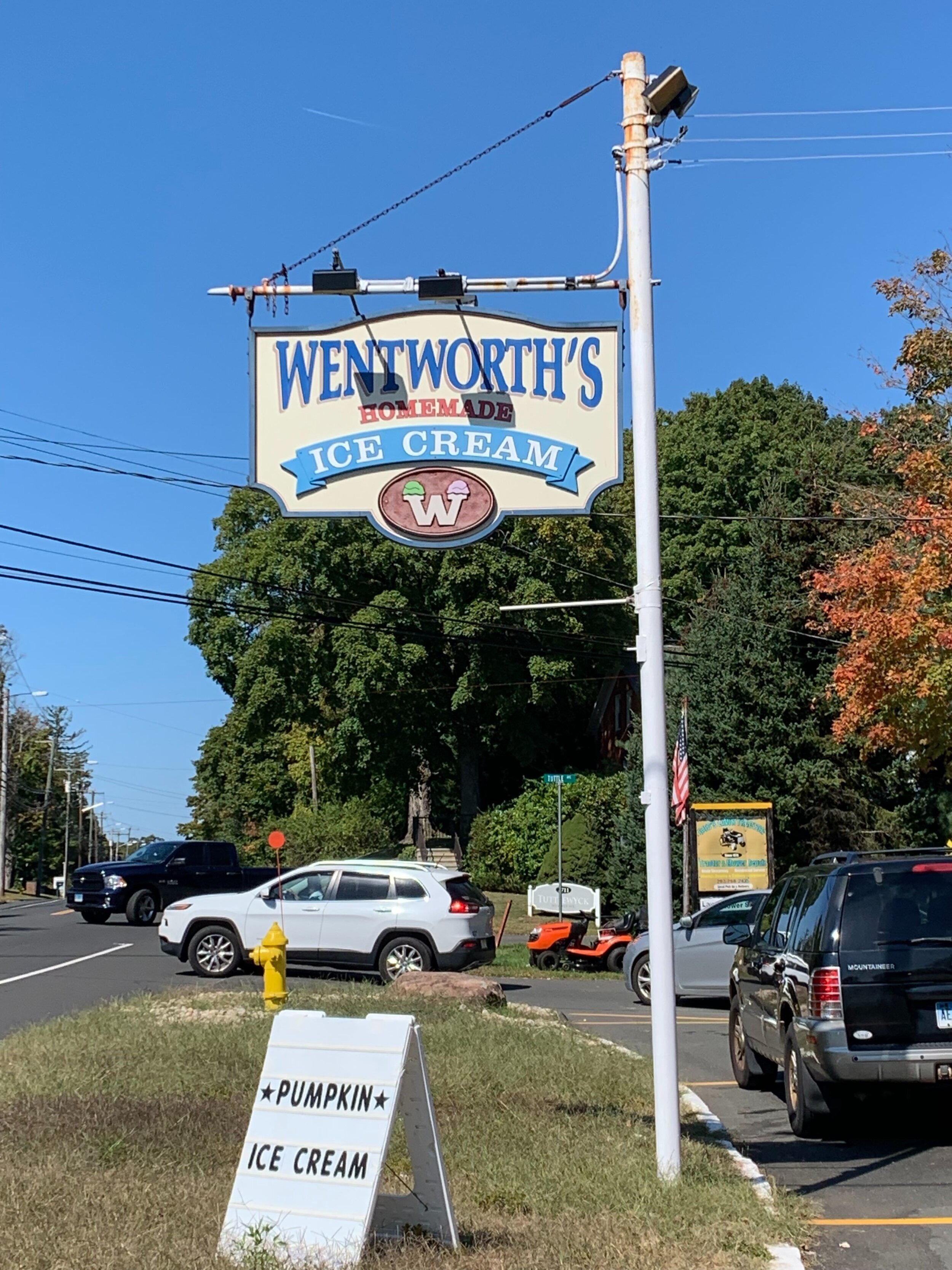 Wentworth's is another Whitney Ave. staple.