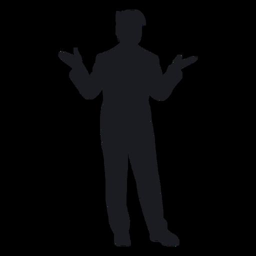 003e8b039472de4f2cd19a44d3b78916-young-man-standing-silhouette-by-vexels.png