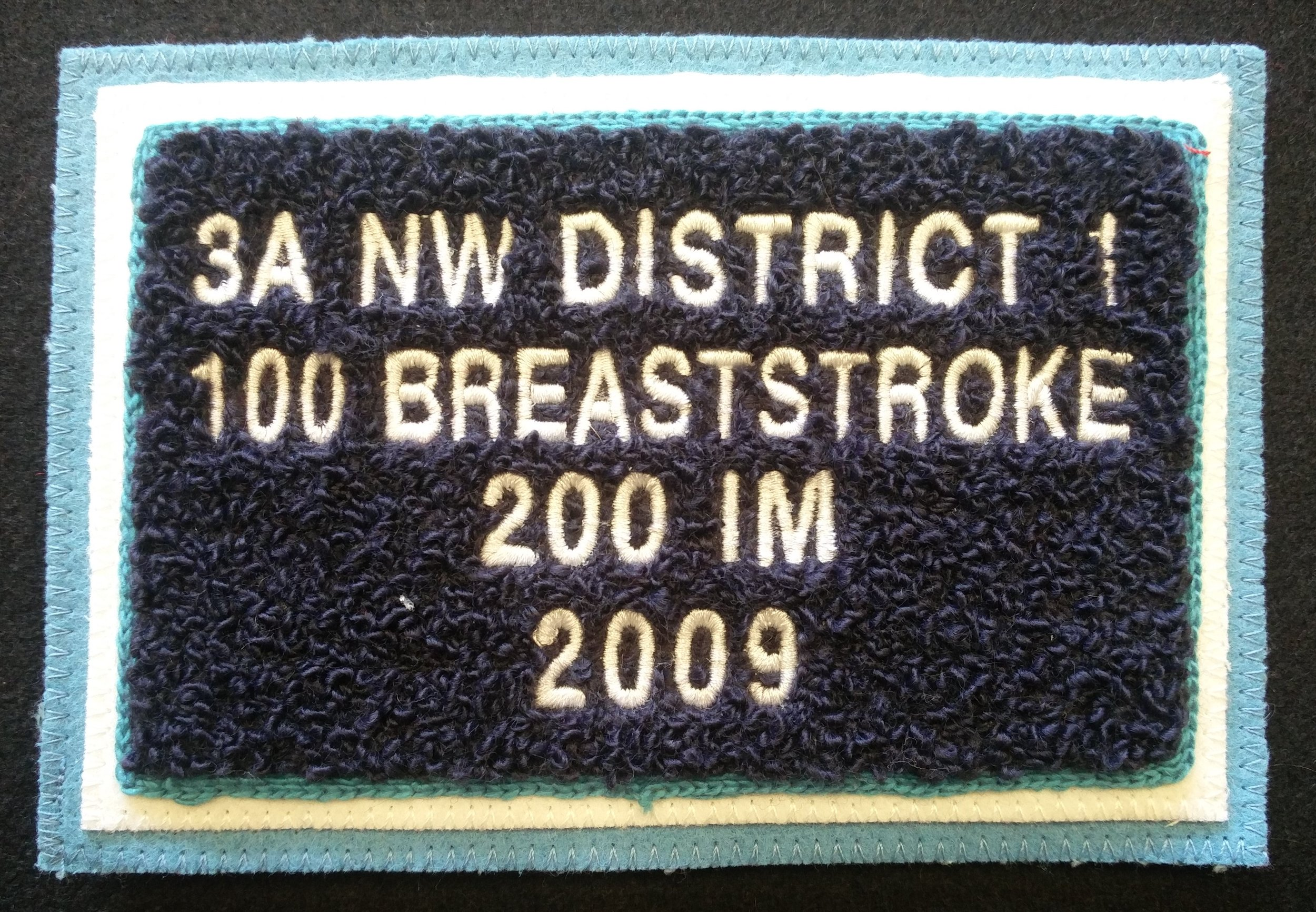 District Patch - 5 lines of text