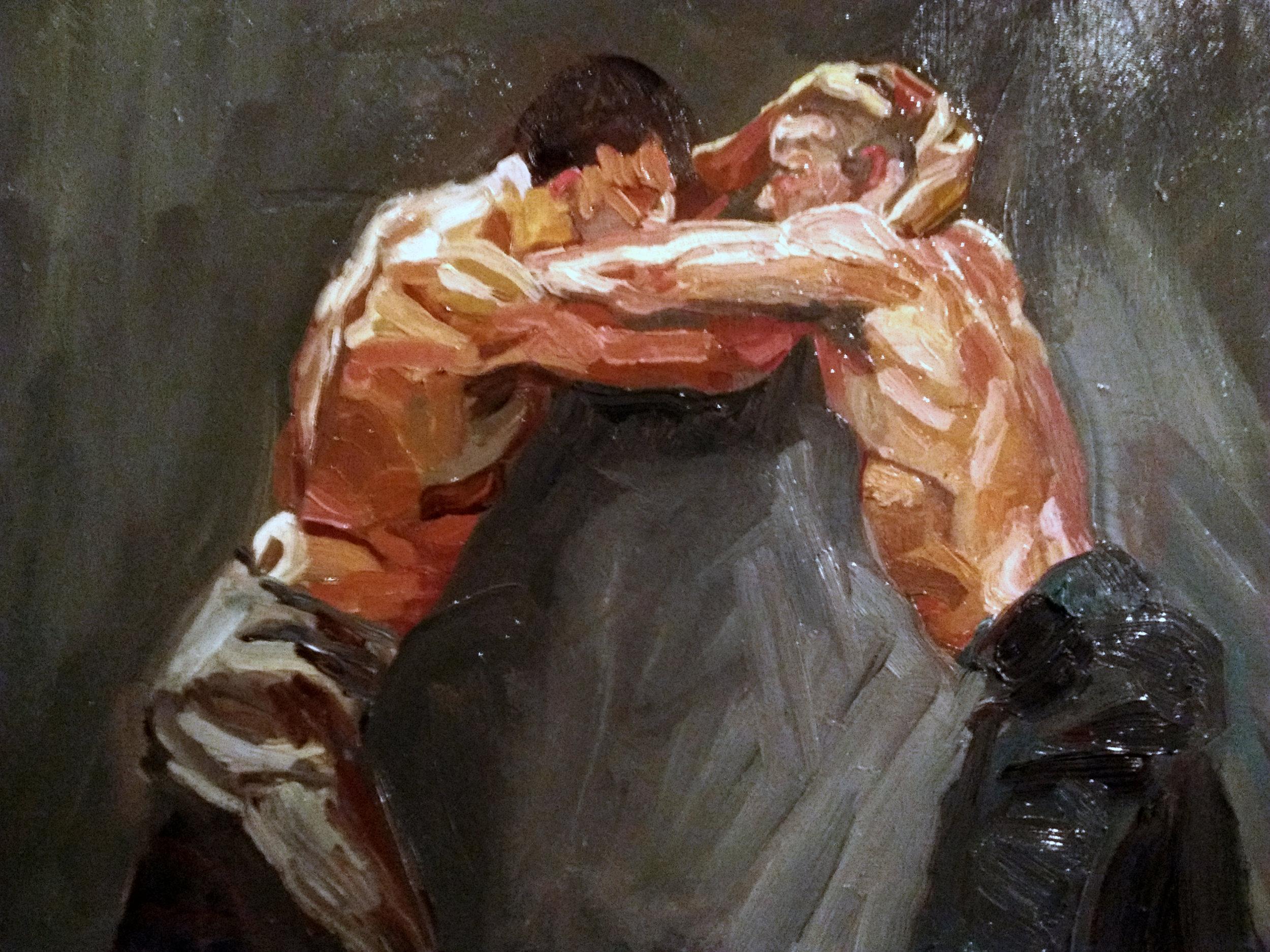"Angela Kremer - No. 15   16"" x 20"" / oil on canvas / $300"